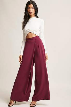Forever 21 High-Waist Palazzo Pants