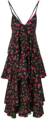 DAY Birger et Mikkelsen Dodo Bar Or floral print tiered ruffle dress