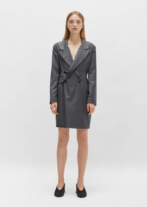 Aalto Pinstripe Blazer Dress