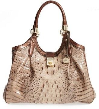 Brahmin 'Tri-Texture - Elisa' Leather Shoulder Bag $415 thestylecure.com