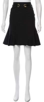 Anna Molinari Flared Knee-Length Skirt