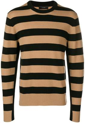 Joseph striped knit pullover