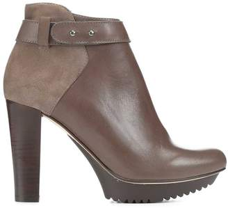 Donald J Pliner RIALA, Kid Suede and Calf Leather Platform Bootie