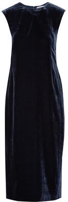 Elizabeth and James - Michelle Cutout Velvet Midi Dress - Navy $395 thestylecure.com