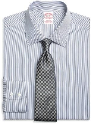 Brooks Brothers Madison Classic-Fit Dress Shirt, Rope Stripe