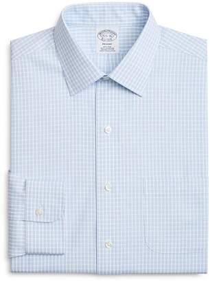 Brooks Brothers Triple-Check Classic Fit Dress Shirt