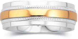 MODERN BRIDE Mens Wedding Band, 8mm Comfort Fit