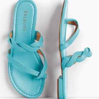 Talbots Gia Twist Sandals - Solid