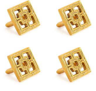 Jonathan Adler Nixon Napkin Rings, Set of 4