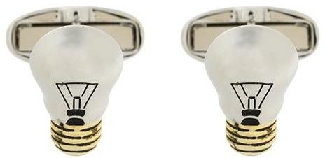 Paul Smith Paul Smith light bulb cufflinks