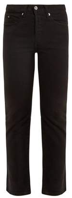 Eve Denim - Jane Mid Rise Kick Flare Jeans - Womens - Black