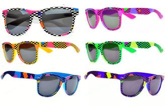 ThatsRad Neon Flip up Lens Sunglasses the Real World MTV Andrew Woods