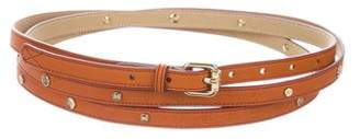 Lancel Leather Wrap Belt w/ Tags