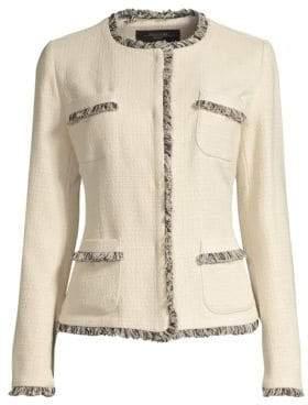 Max Mara Edo Tweed Short Jacket