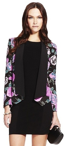 Rebecca Minkoff Becky Jacket in Multi Floral