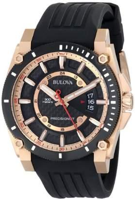 Bulova Men's 98B152 Precisionist Analog Chronograph Watch