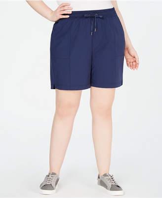 Ideology Plus Size Woven Shorts