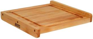"John Boos & Co. Maple Edge-Grain Countertop Cutting Board with Juice Groove, 23"" x 17"" x 1"""