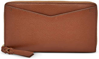 Fossil Caroline Rfid Zip-Around Wallet