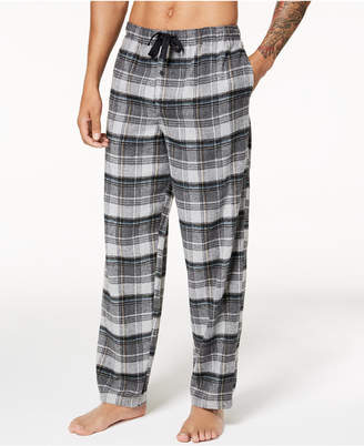 Perry Ellis Men Plaid Flannel Pajama Pants
