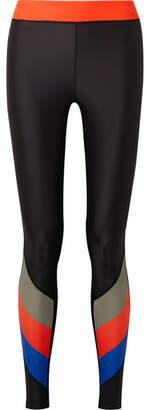 P.E Nation First Gen Printed Stretch Leggings - Black