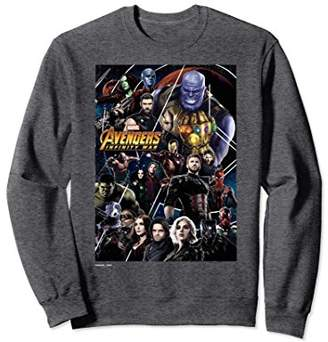 Marvel Avengers Infinity War Group Poster Sweatshirt