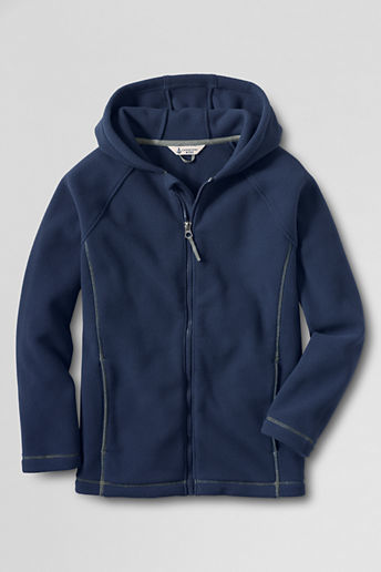 Lands' End Boys' ThermaCheck®-200 Fleece Hoodie