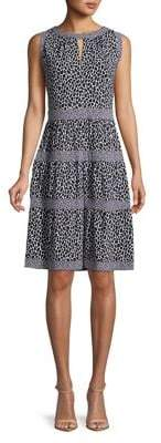 MICHAEL Michael Kors Leopard Print Dress