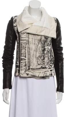 1e48b76e9 Rick Owens Biker Jacket - ShopStyle