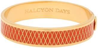 Halcyon Days Gold Plated Parterre Bangle