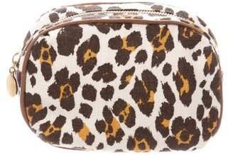 Stella McCartney Animal Print Cosmetic Bag