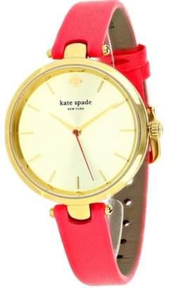 Kate Spade Neon Geranium Leather Women's Watch, KSW1135