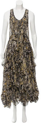 AllSaints Silk Maxi Dress $150 thestylecure.com