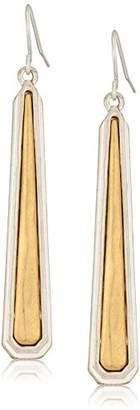 The Sak Inlay Paddle Drop Earrings