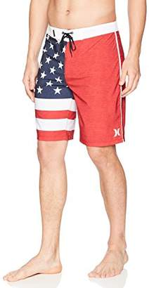 "Hurley Men's Apparel Men's Phantom Cheers USA Flag 20"" Boardshort"