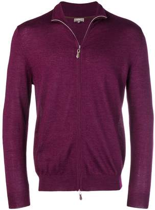 N.Peal cashmere zipped cardigan