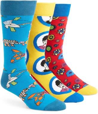Happy Socks The Beatles 3-Pack Sock Gift Set