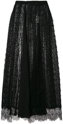 Ermanno Scervino lace maxi skirt