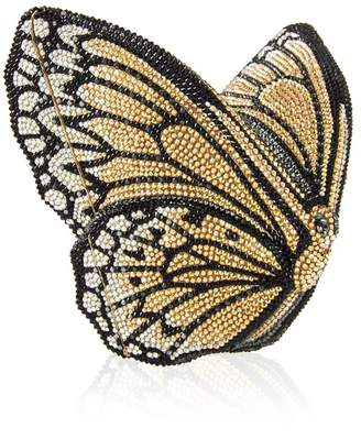 Judith Leiber Couture Monarch Butterfly Crystal Minaudiere