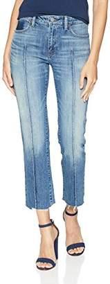 Lucky Brand Women's Mid Rise Ava Slim Straight Jean