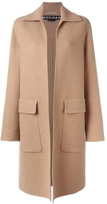 Rochas flap pocket coat