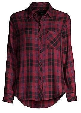 Rails Women's Hunter Plaid Pocket Button-Down Shirt