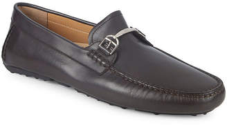 Bally Drintal Leather Bit Loafers