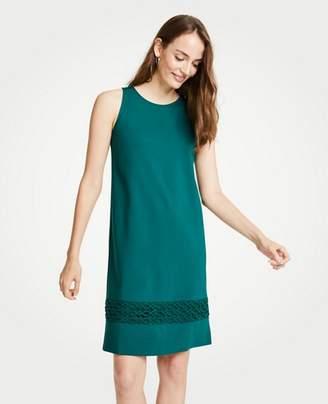 Ann Taylor Tall Lace Hem Tank Dress