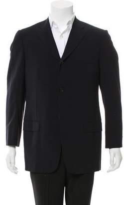 Valentino Wool Three-Button Blazer