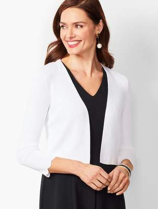 Talbots Scallop-Edge Shrug