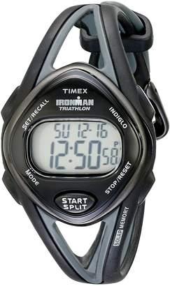 Timex Women's T5K039 Ironman Sleek 50 Mid-Size Resin Strap Watch