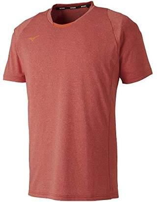 Mizuno (ミズノ) - (ミズノ) MIZUNO(ミズノ) テニスウェア Tシャツ[メンズ] 62JA8014 63 マーズレッド L
