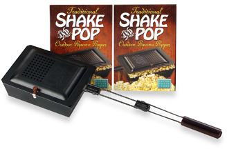 Wabash Valley Farms Wabash Valley Farms™ Traditional Shake and Pop™ Outdoor Popcorn Popper