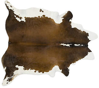 Saddlemans Multicolored Cowhide Rug